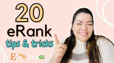 20 eRank Tools And Features | Etsy SEO | eRank Keyword Tool | Nancy Badillo