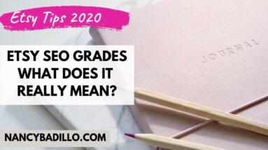 Erank - Etsy SEO Grade | What does it REALLY mean? Etsy Tips 2021