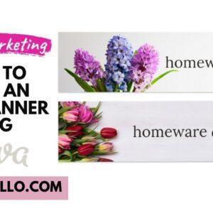 How To Make An Etsy Banner Using Canva - Etsy Marketing | Nancy Badillo
