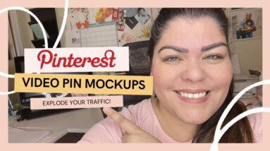 Pinterest Video Pins | Etsy Pinterest Marketing | Etsy Mockup | Nancy Badillo