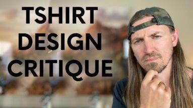 Learn t-shirt design!