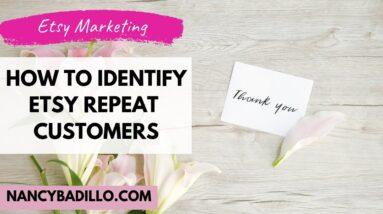 Selling on Etsy - Etsy Marketing | Nancy Badillo