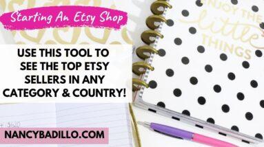 Selling on Etsy for Beginners 2020  - Starting An Etsy Shop | Nancy Badillo